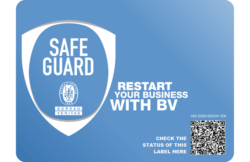 شهادة ™Bureau Veritas SAFE GUARD