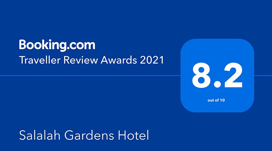 Booking.com 2021 Traveller Review Award