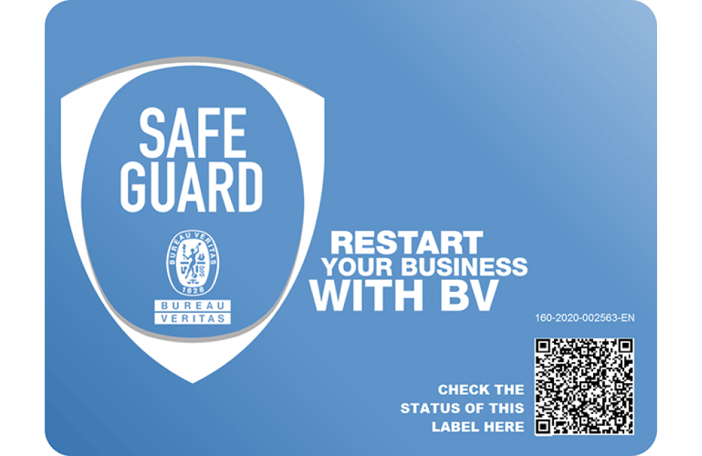 Bureau Veritas SAFE GUARD™ Certification