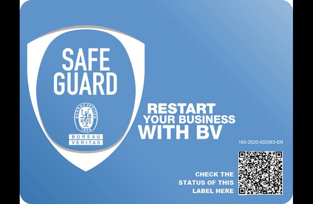 شهادة ™Bureau Veritas SAFE GUARD